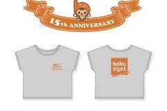 日本ベビーサイン協会様_15周年Tシャツ
